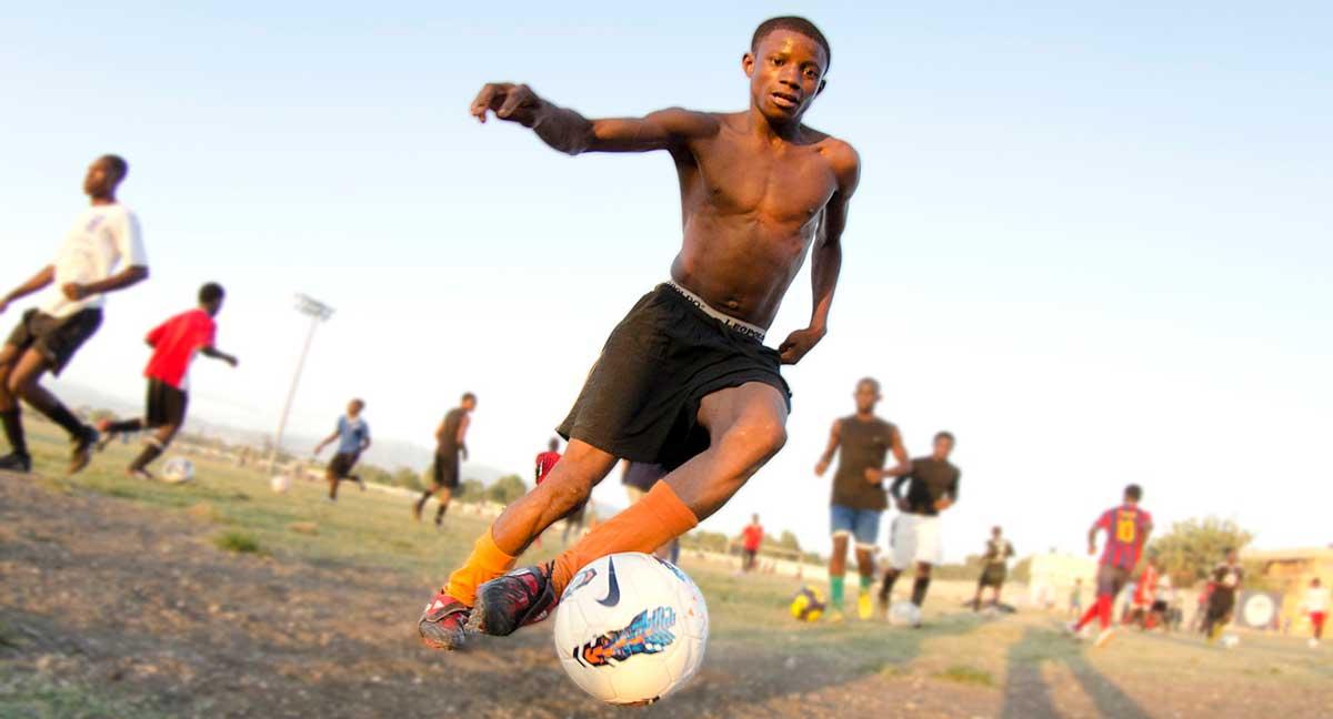 A varzea e o menino haitiano