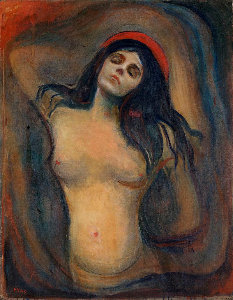 Edvard Munch - Madona