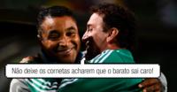 Abelão arrepia Palmeiras