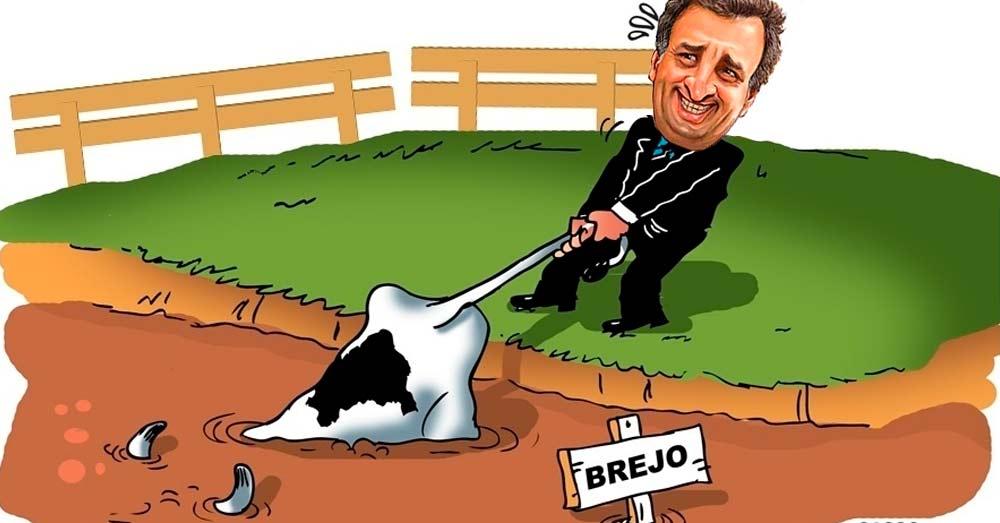 A vaca do PSDB está indo para o brejo
