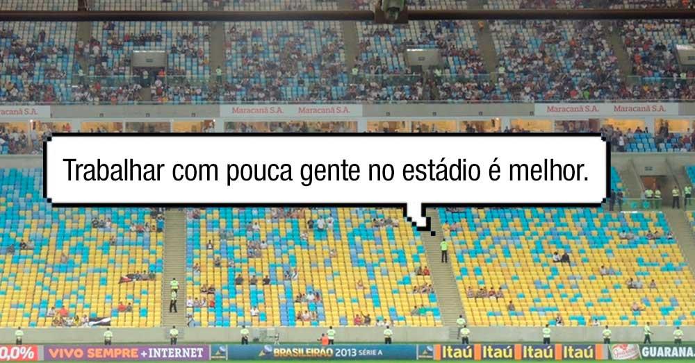 Fluminense, estadio vazio, prejuizo