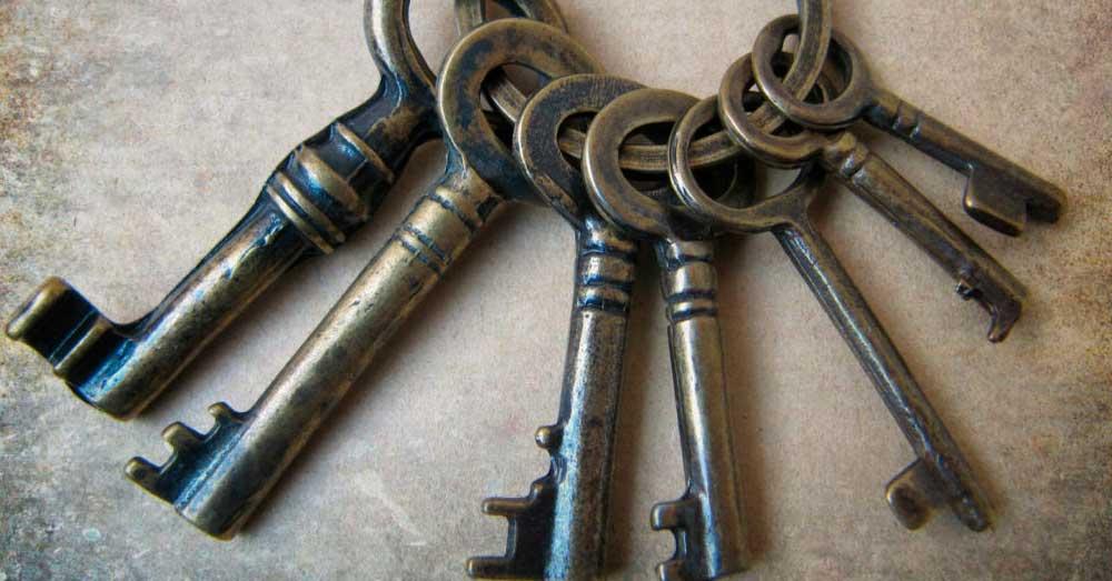 Guardado a sete chaves