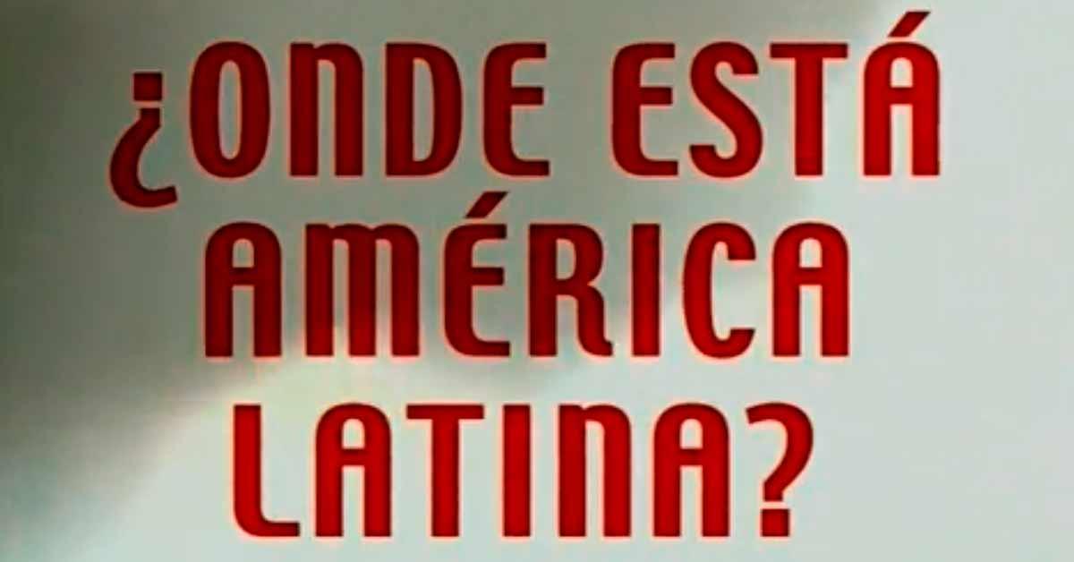 aonde está américa latina