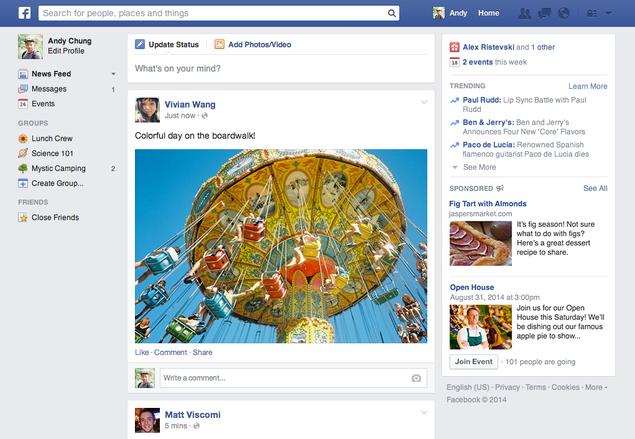 Facebook vai dar menos destaque para conteúdo jornalístico e vídeos.