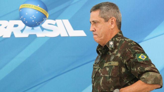 Quem é Braga Netto, o general que vai comandar a intervenção federal no Rio.