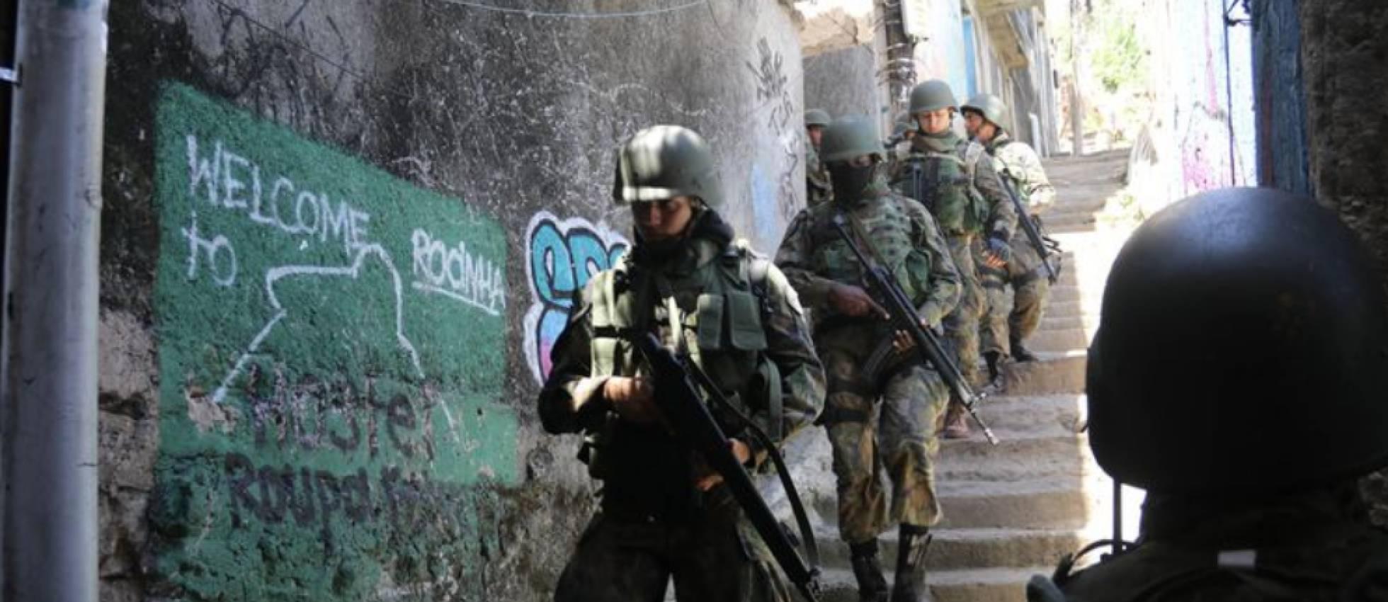 Intervenção federal no Rio, a nova cara das ações militares que fracassam há décadas.